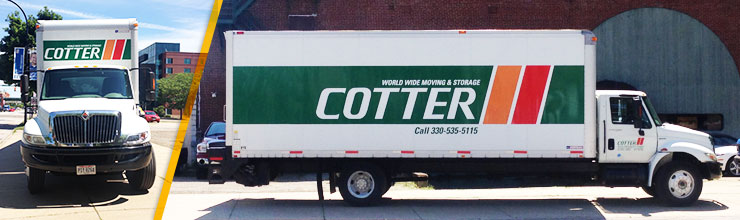 Moving & Storage in Akron Ohio | Cotter Moving and Storage